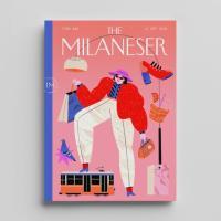 Grattacieli, aperitivo e tram: le copertine del 'The Milaneser', la rivista che non c'è