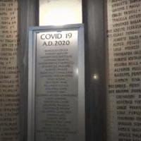 Un tempio per i medici italiani, su una lapide scolpiti i 178 nomi dei sanitari