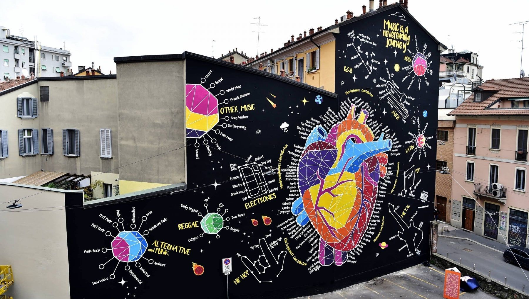 Street art a Milano, via al censimento delle opere: nasce ...