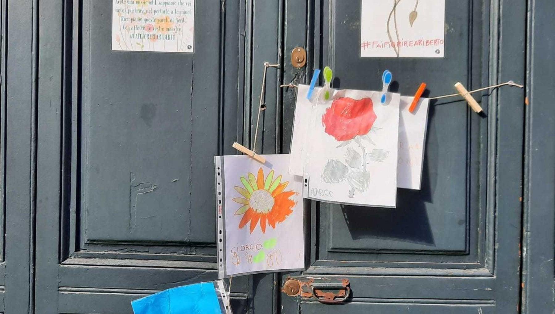 Fiori di primavera sulla scuola di Milano: i disegni dei ...