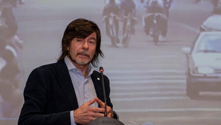 Gianni Bugno in pista per Sala: sarà candidato alle Comunali di Milano con i Riformisti