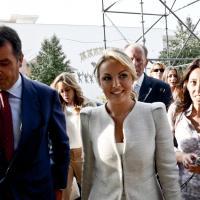 Francesca Pascale star al meeting di Forza Italia