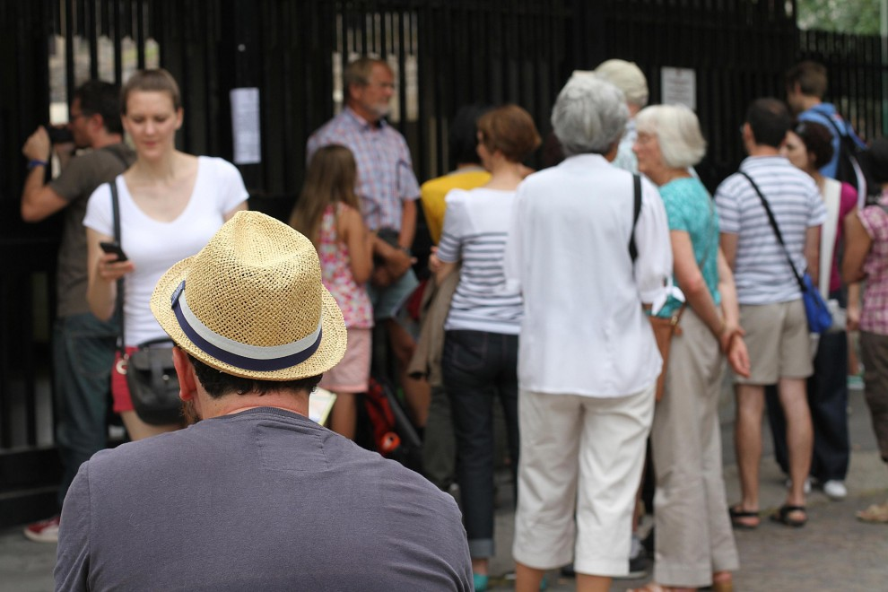 Scavi di Pompei, stop per assemblea, turisti in fila