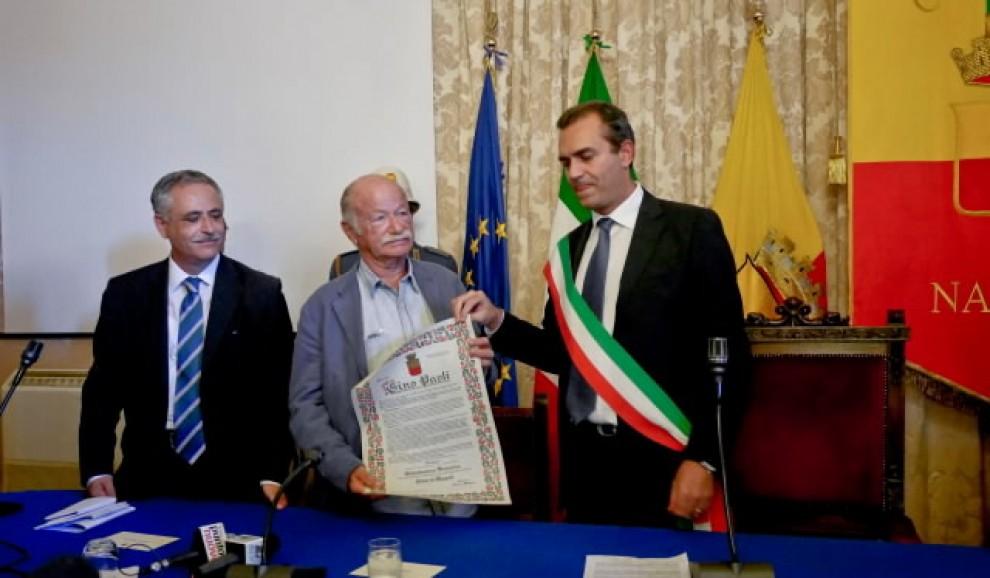 Comune, a Gino Paoli la cittadinanza onoraria