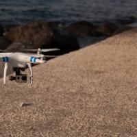 In volo su Ischia, immagini da un drone
