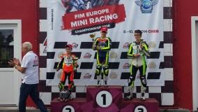 Napoletano undicenne campione europeo di minimoto
