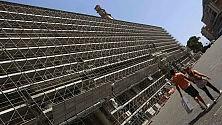 Palazzo Reale e S. Carlo  messi in gabbia