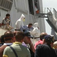 A Napoli giunti 550 migranti in nave e in aereo