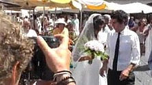 Caterina e Guido  sposi a Capri