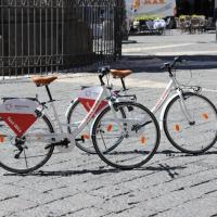Bike sharing, ecco in anteprima le biciclette da prova