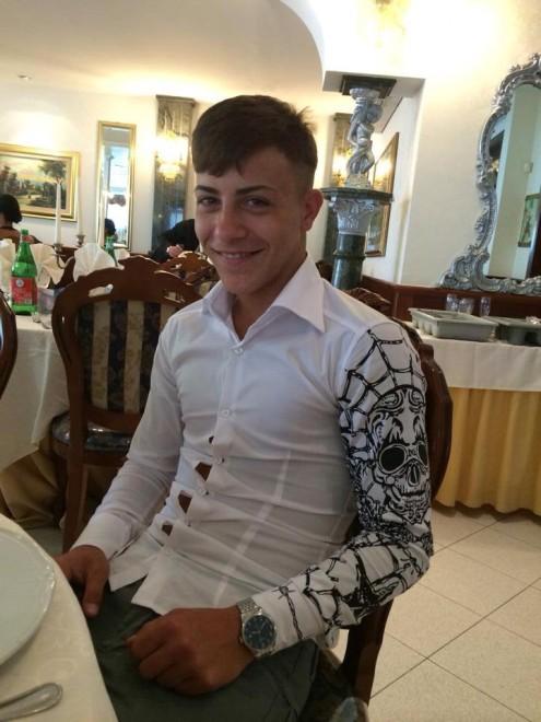 Davide Bifolco, ucciso a 17 anni: le foto da Facebook