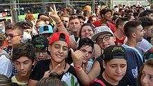 I fan di Clementino  alla Feltrinelli Express