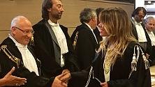 Alessandra Clemente  giura da avvocato
