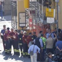 Napoli, cade solaio nell'antica stazione di Pietrarsa: morto un operaio
