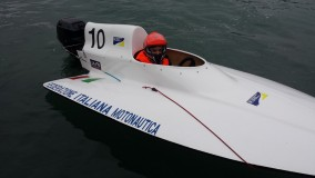 Massimiliano Testa  campione d'Italia  dei giovani piloti