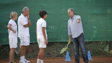 Tennis, la lezione del campione della Davis Paolo Bertolucci al Tc Napoli  VIDEO 1   /2    FOTO 1   /2