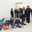 Franceschini e l'arte contemporanea  l'ironia corre sul web  foto