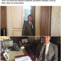 Il sindaco esulta su Facebook