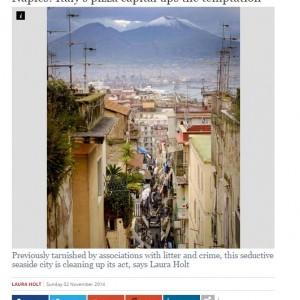 """L'Independent: """"Non solo pizza e camorra, a Napoli le cose stanno cambiando"""""""
