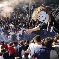 Da piazza Garibaldi a piazza Carlo III, la manifestazione contro con il Jobs Act