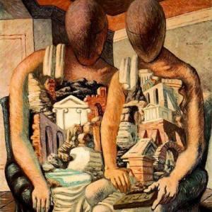 Museo archeologico, l'eruzione del Vesuvio a Pompei vista da Picasso