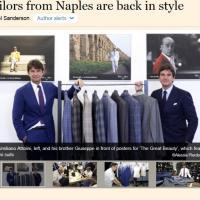 c0f9bafb05550 Il Financial Times elogia la sartoria napoletana - 1 di 1 - Napoli -  Repubblica.it