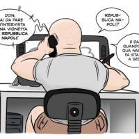 Il principe del cartoon Don Alemanno: