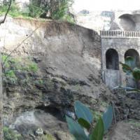 Scavi di Pompei, smottamento nella