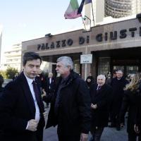 Il ministro Orlando a Palazzo di Giustizia