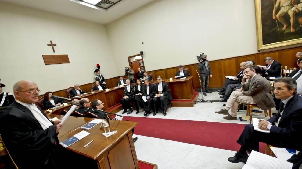Corte dei conti, de Magistris e Caldoro all'inaugurazione ...