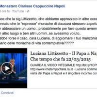 Incontro con il Papa: le Clarisse rispondono alla Littizzetto su Facebook
