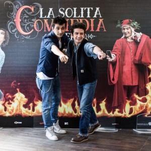 """I """"soliti idioti"""", Fabrizio Biggio e Francesco Mandelli, arrivano a Napoli per presentare il nuovo film"""