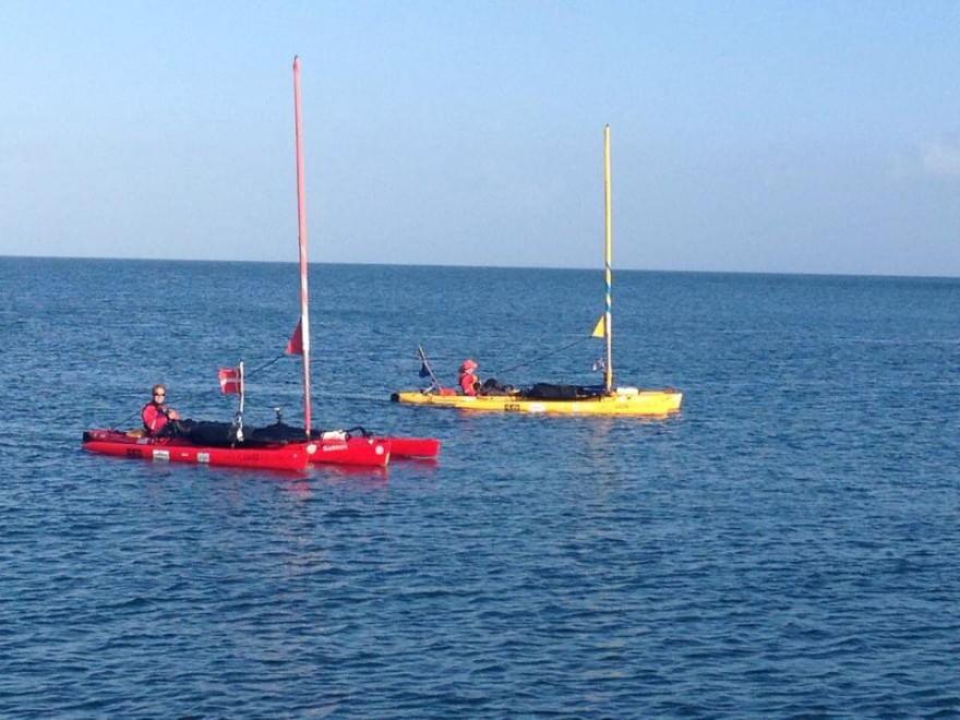In kayak da Copenaghen a Istanbul passando per Procida