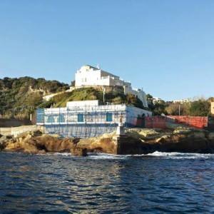 Gaiola: fermi i lavori di ristrutturazione al Centro visitarori