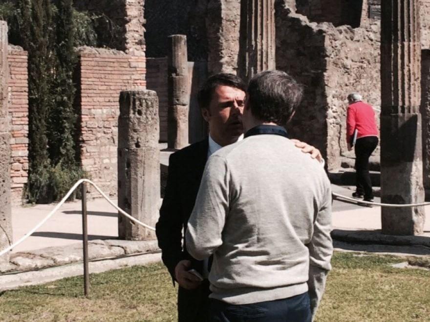 Pompei Expo-2015, Renzi incontra Cantone