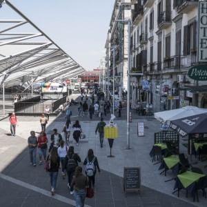 Napoli, apre il tunnel di piazza Garibaldi