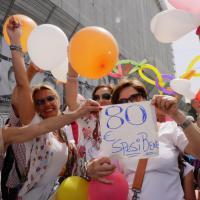 Scuola, la protesta di Napoli