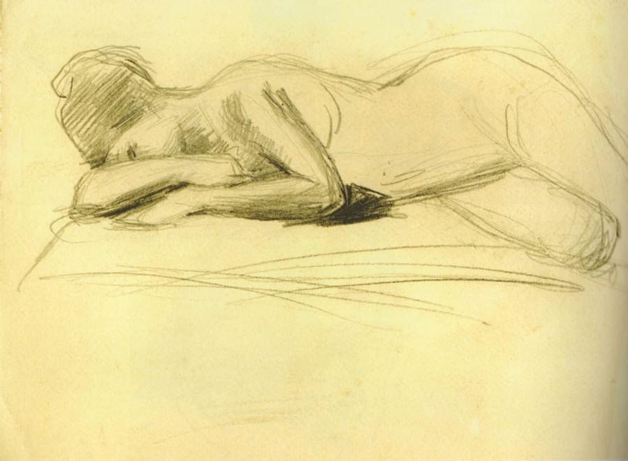 """""""Fogli di pensieri"""", in mostra più di cento disegni di Costantino Barbella"""