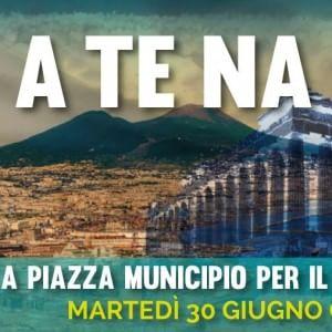 Napoli scende in piazza per la Grecia