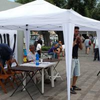 Il comitato NoTriv in piazza nei Campi Flegrei