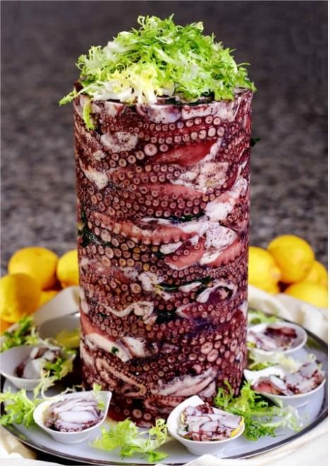 Dal kebab al kepurp: il polpo verace diventa panino