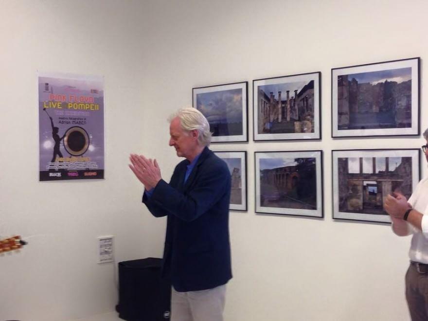 Il regista Adrian Maben cittadino onorario di Pompei