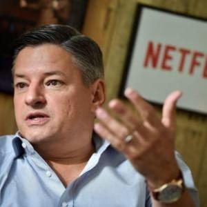 """La sfida di Sarandos, signor Netflix """"Il futuro del cinema parte da Ischia"""""""