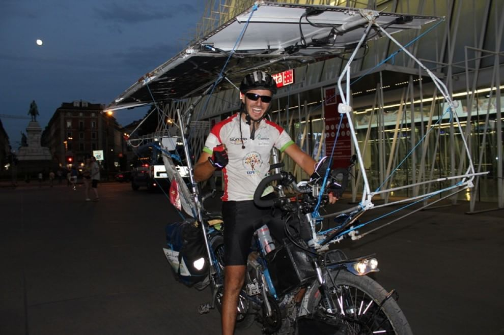 The sun trip, un'avventura di 7 mila chilometri con una bici solare