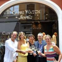 Capri Watch compie vent'anni e apre un nuovo store in via Camerelle