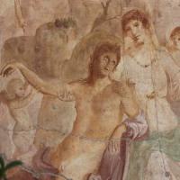 Pompei, restaurato l'Adone ferito