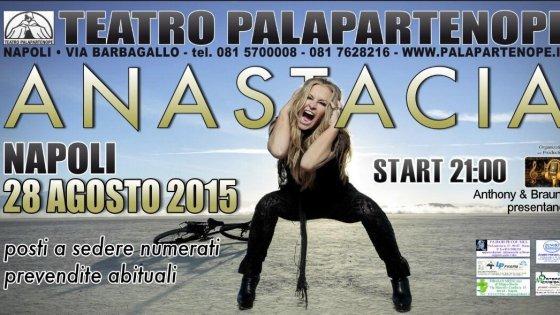 """Anastacia, al Palapartenope: """"Qui i fan più passionali del mondo"""""""