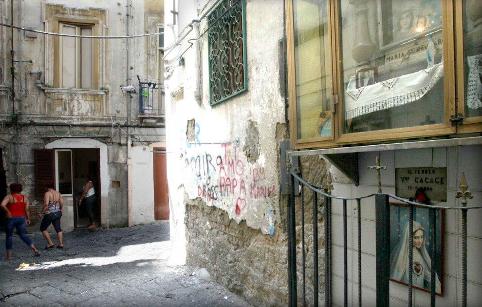 Prostituzione tra via Carbonara e via Rosaroll