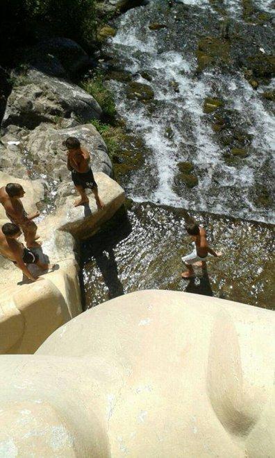 Reggia di caserta ragazzi si fanno il bagno nella fontana di diana e atteone la soprintendenza - Il bagno di diana klossowski ...