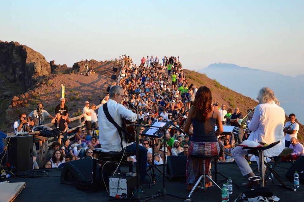 Rava, De Vito, Taufic: jazz sul Vesuvio